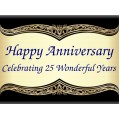 Anniversary Sign Templates