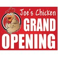 Grand Opening Sign Templates