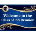 Reunion Sign Templates