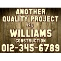 Construction Sign Templates