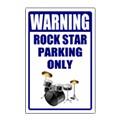 Novelty Parking Sign Templates