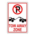 Tow-Away Parking Sign Templates