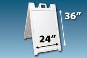 """36""""x24"""" Sandwich Board"""