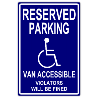 Reserved parking 102 handicap parking sign templates for Handicap parking sign template