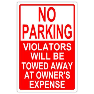 no parking 102 tow away parking sign templates templates click