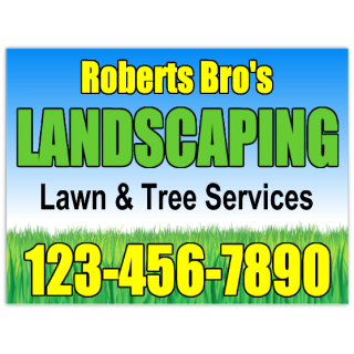 Landscaping+Sign+102