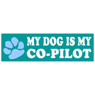 Co-Pilot+Bumper+Sticker