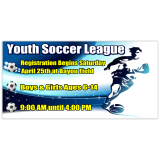 youth soccer banner 101 sport banner templates sports banners