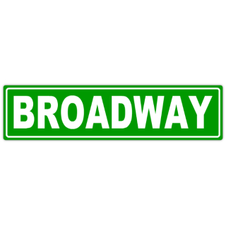 Broadway+Sreet+Sign