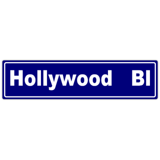Hollywood+Street+Sign