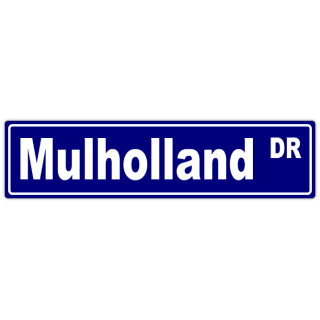 Mulholland+Street+Sign