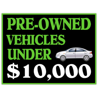 Pre+Owned+Cars+Sign+101