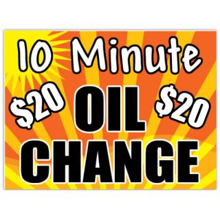 Oil+Change+Sign+105