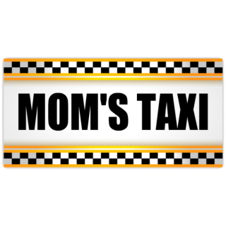 Mom_39_s+Taxi+License+Plate+101