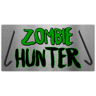 Zombie+Hunter+License+Plate