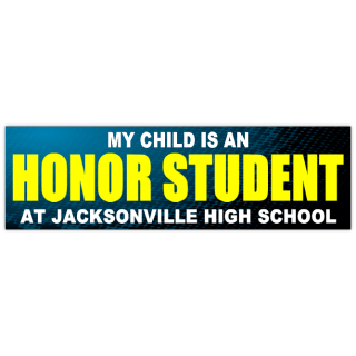 honor student sticker 102 school bumper stickers templates click on a category below to. Black Bedroom Furniture Sets. Home Design Ideas