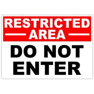 Restricted+Do+No+Enter+101