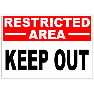 Restricted+Keep+Out+101