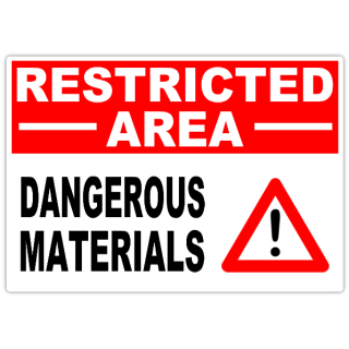 Restricted+Dangerous+Materials+101
