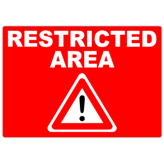 Restricted+Area+102