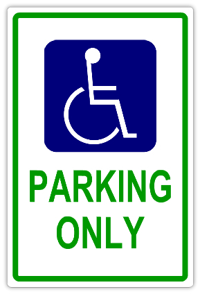 handicap parking 101 handicap parking sign templates templates