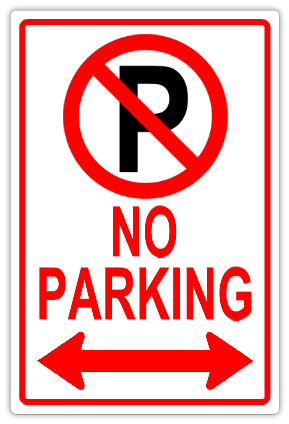 No parking 112 tow away parking sign templates for No parking signs template