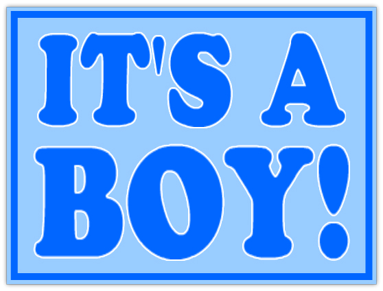 It S A Boy Sign 101 Baby Shower Sign Templates