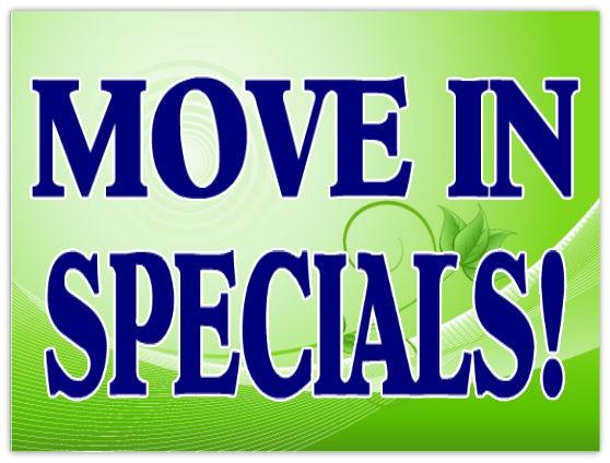 Move In Specials Sign 102 Apartment Sign Templates