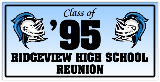 School reunion banner 101 anniversary banner templates for Reunion banners design templates