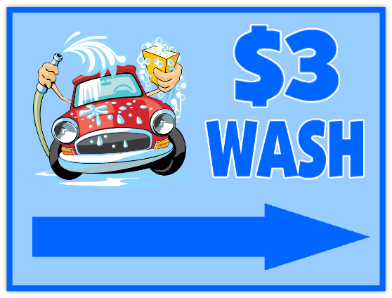 Car Wash Sign 104 Auto Sign Templates Car Signs