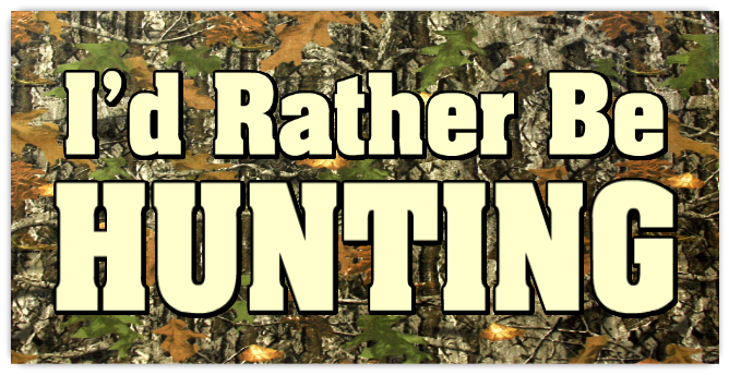 Rather be hunting plate 101 novelty license plates templates