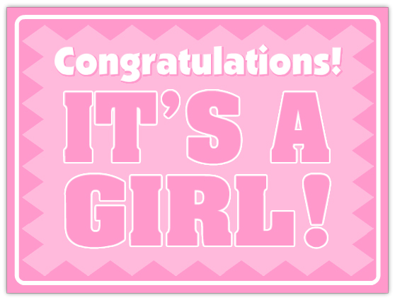 Shop for baby shower banners in pink and blue, including pennant banners and welcome baby banners. Find yard signs to announce the new arrival. Quick View Click to favorite It's A Girl Baby Shower Yard Sign. $ It's A Girl Baby Shower Yard Sign 15in x 26in Plastic Decoration.
