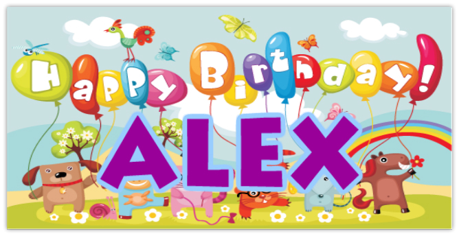 Birthday Banner 111 | Occasion Banner Templates, Special Occasion ...