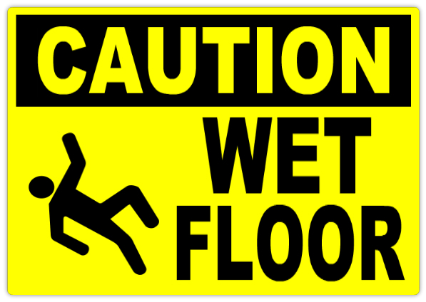 Caution Wet Floor Sign Caution Safety Sign Templates - Caution sign template