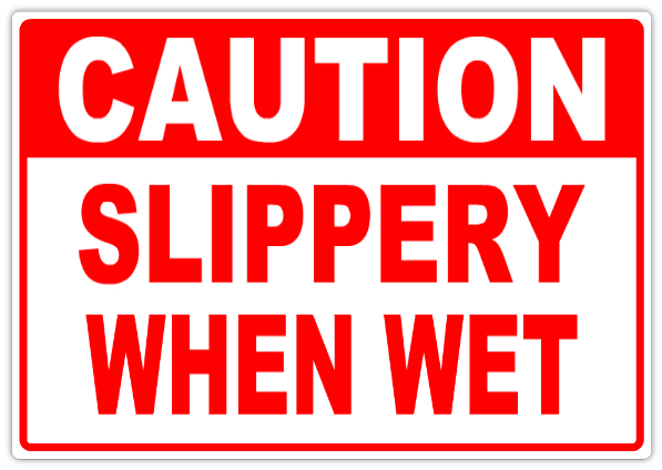 caution slippery when wet 102 caution safety sign templates templates click on a category. Black Bedroom Furniture Sets. Home Design Ideas