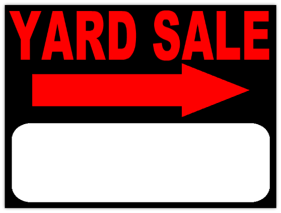 yard sale sign template koni polycode co