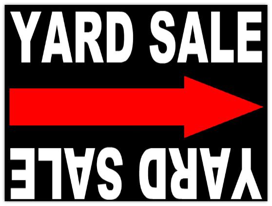 garage sale 104 garage sale sign templates. Black Bedroom Furniture Sets. Home Design Ideas