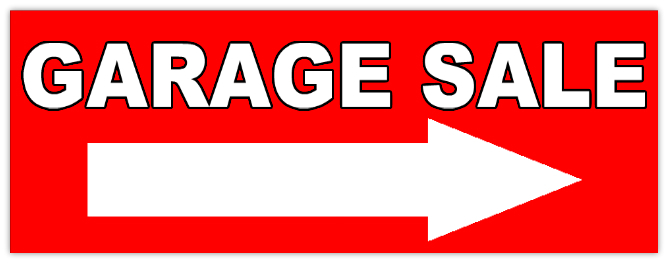 GARAGE+SALE+106  Car Sale Sign Template