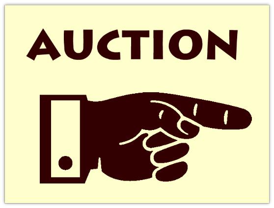 Auction 109 Auction Sign Templates