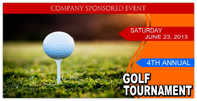 Golf Banner Golf Tournament Banner Templates Templates