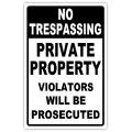 No Trespassing 101