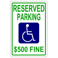 Reserved Parking 104