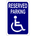 Reserved parkign 103 handicap parking sign templates for Reserved parking signs template