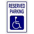reserved parking signs template - reserved parking 106 handicap parking sign templates