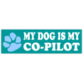 Co-Pilot Bumper Sticker