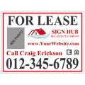 Real Estate Sign 105