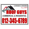 Roofing Sign 104