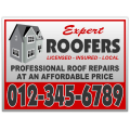 Roofing Sign 106