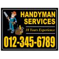 Handyman Signs 102
