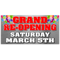 Grand Opening Banner 105